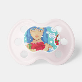 Lady With Cheesecake Pacifier