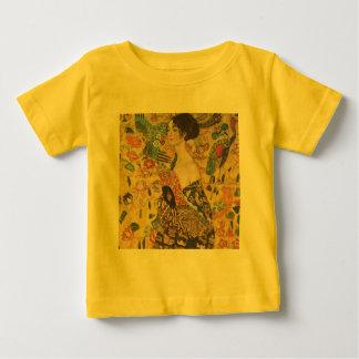 Lady with Fan - Gustav Klimt Infant T-shirt