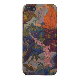 Lady with Foxgloves iPhone SE/5/5s Cover