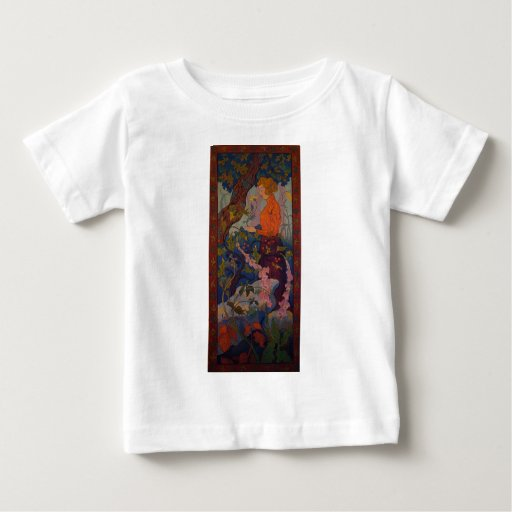 Lady with Foxgloves T-shirt