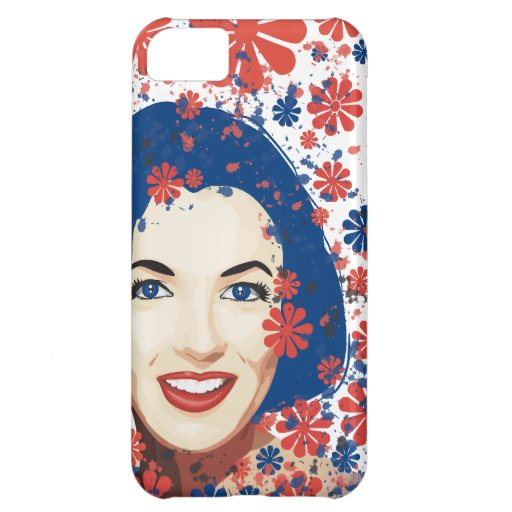 Lady With Ink Floral iPhone 5C Case