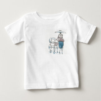 Lady With Pram Infant Tee Shirt