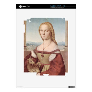 Lady with the Unicorn Raphael Santi Decals For The iPad 2
