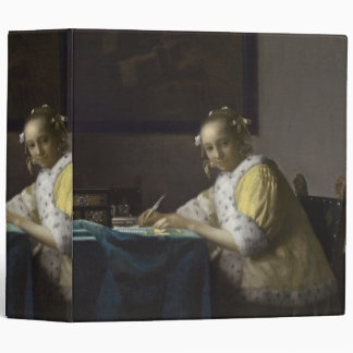 Lady Writing a Letter by Johannes Vermeer Binder