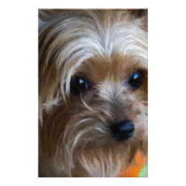Lady Yorkshire Terrier Stationery