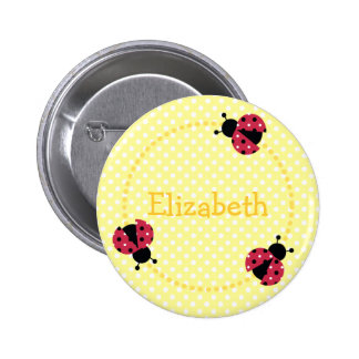 Ladybird badge/button button