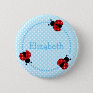Ladybird badge/button button