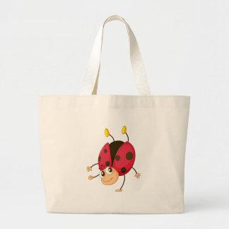 ladybird jumbo tote bag