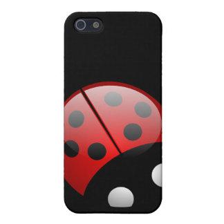 Ladybird Black Case For iPhone SE/5/5s