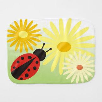 ladybird Burp Cloth
