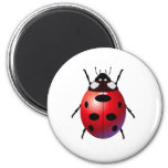 ladybird fridge magnet
