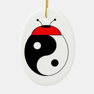 ladybird harmonized ceramic ornament