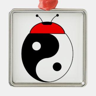 ladybird harmonized metal ornament
