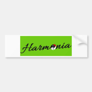 Ladybird Harmonized Zen Bumper Sticker