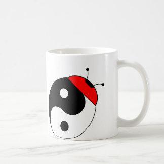 ladybird harmonizes coffee mug