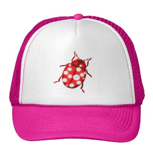 Ladybird Lady Bug Gardening Gifts Trucker Hat