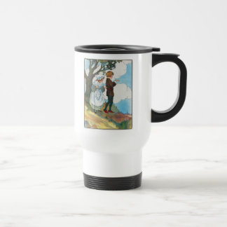 Ladybird, ladybird, fly away home! travel mug