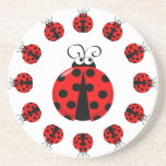 Ladybird / Ladybug Coaster