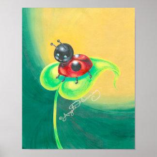 Ladybird, Ladybug, Either Way I'm Cute Poster