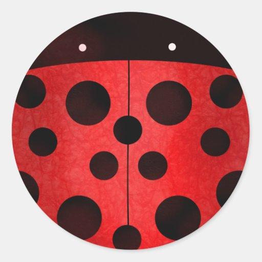 Ladybird Ladybug - stickers