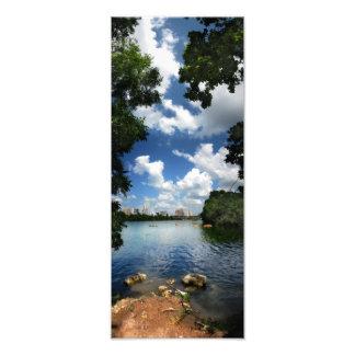 Ladybird Lake / Austin Texas Skyline 2 Photo Art