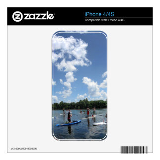 Ladybird Lake Boating - Austin, Texas iPhone 4 Skins