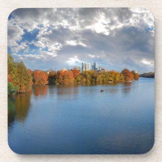 Ladybird Lake in the Fall - Austin, Texas Coaster