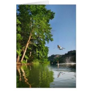 Ladybird Lake Rope Swing - Austin Texas Cards