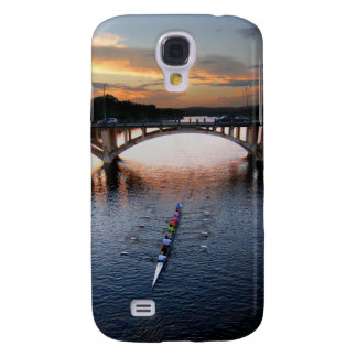 Ladybird Lake Rowing Scull Sunset - Austin Texas Samsung S4 Case