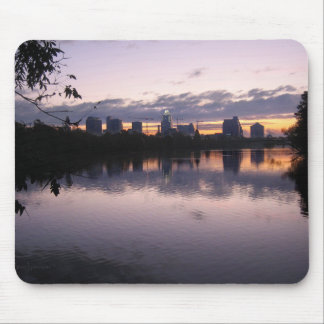 Ladybird Lake Sunrise 3 - Austin Texas Skyline Mouse Pad