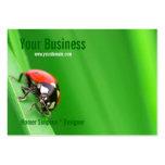 Ladybird Large Business Card