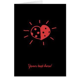 Ladybird love card
