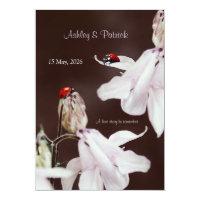 Ladybird Love  Wedding Invitation (<em>$2.11</em>)