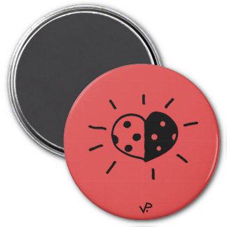 ladybird magnet red