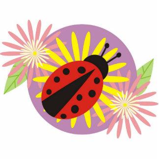 ladybird Photo Sculpture