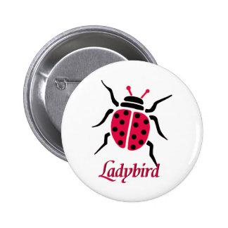 Ladybird Pinback Button