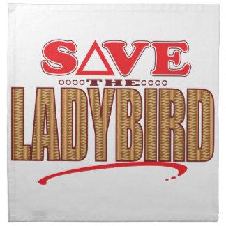 Ladybird Save Napkin