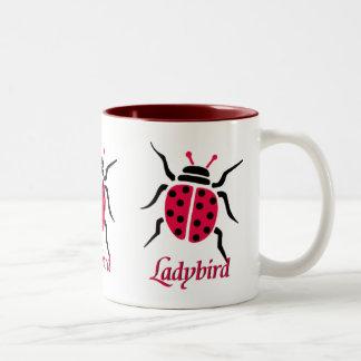 Ladybird Two-Tone Coffee Mug