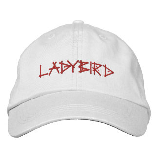 LADYBIRDS EMBROIDERED HATS