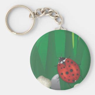 ladybirds keychain