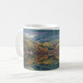 Ladybower Reservoir in Derbyshire souvenir photo Coffee Mug