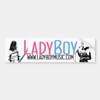 LadyBoy Bumper Sticker 1