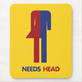 Ladyboy Needs Head Mouse Pad