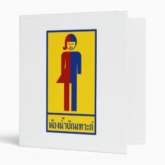 Ladyboy / Tomboy Toilet ⚠ Thai Sign ⚠ Binder