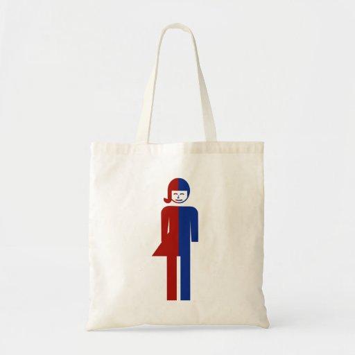 Ladyboy / Tomboy Toilet ⚠ Thai Sign ⚠ Budget Tote Bag