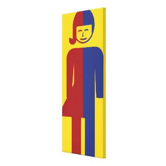 Ladyboy / Tomboy Toilet ⚠ Thai Sign ⚠ Canvas Print