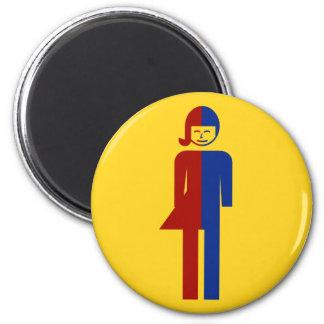 Ladyboy / Tomboy Toilet ⚠ Thai Sign ⚠ Magnet