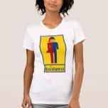 Ladyboy / Tomboy Toilet ⚠ Thai Sign ⚠ Tee Shirt