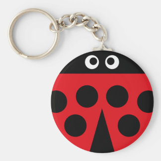 ladybug 1 keychain
