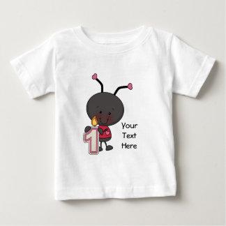 Ladybug 1 Year (customizable) Tee Shirt